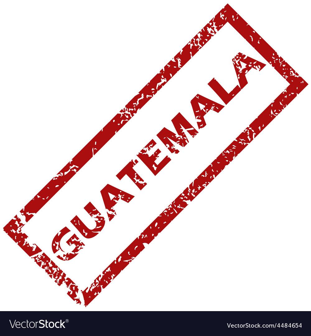 New Guatemala rubber stamp