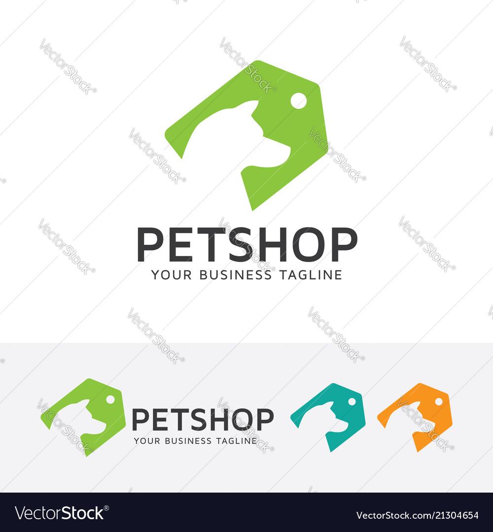 Pet shop logo design