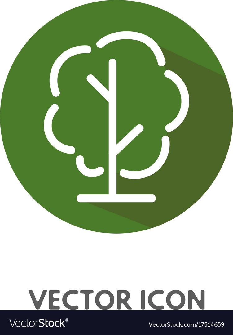 Doodle tree icon