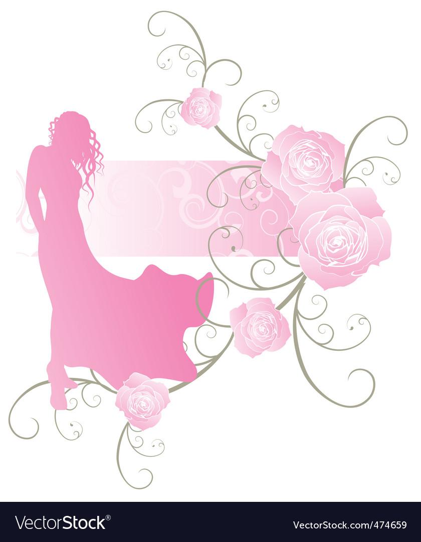 Roses girl curves