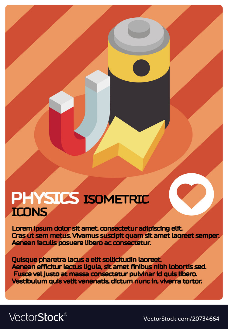 Physics color isomeric poster