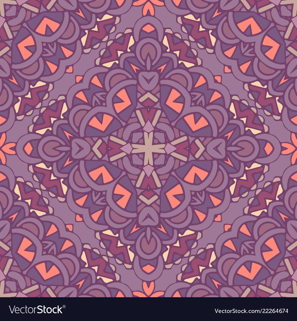 Abstract tile decorative ornament damask