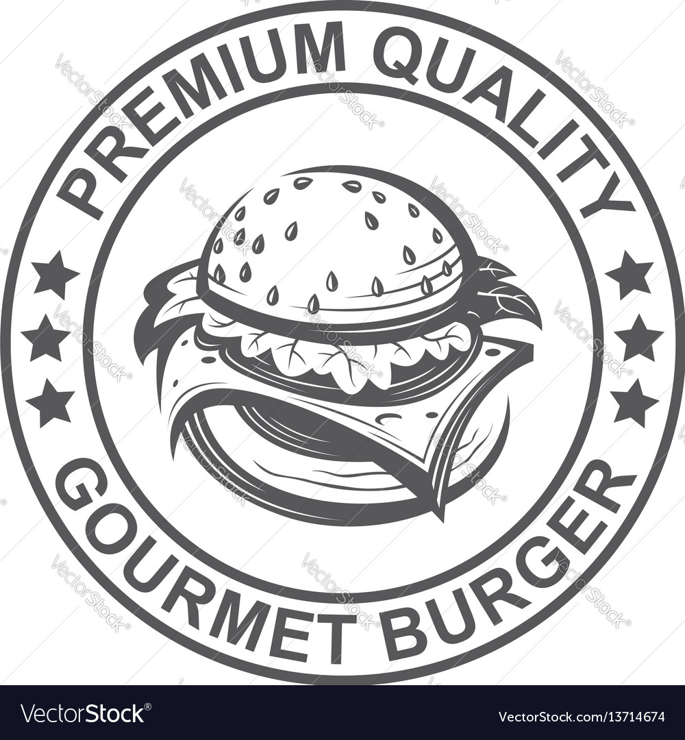 Image with burger