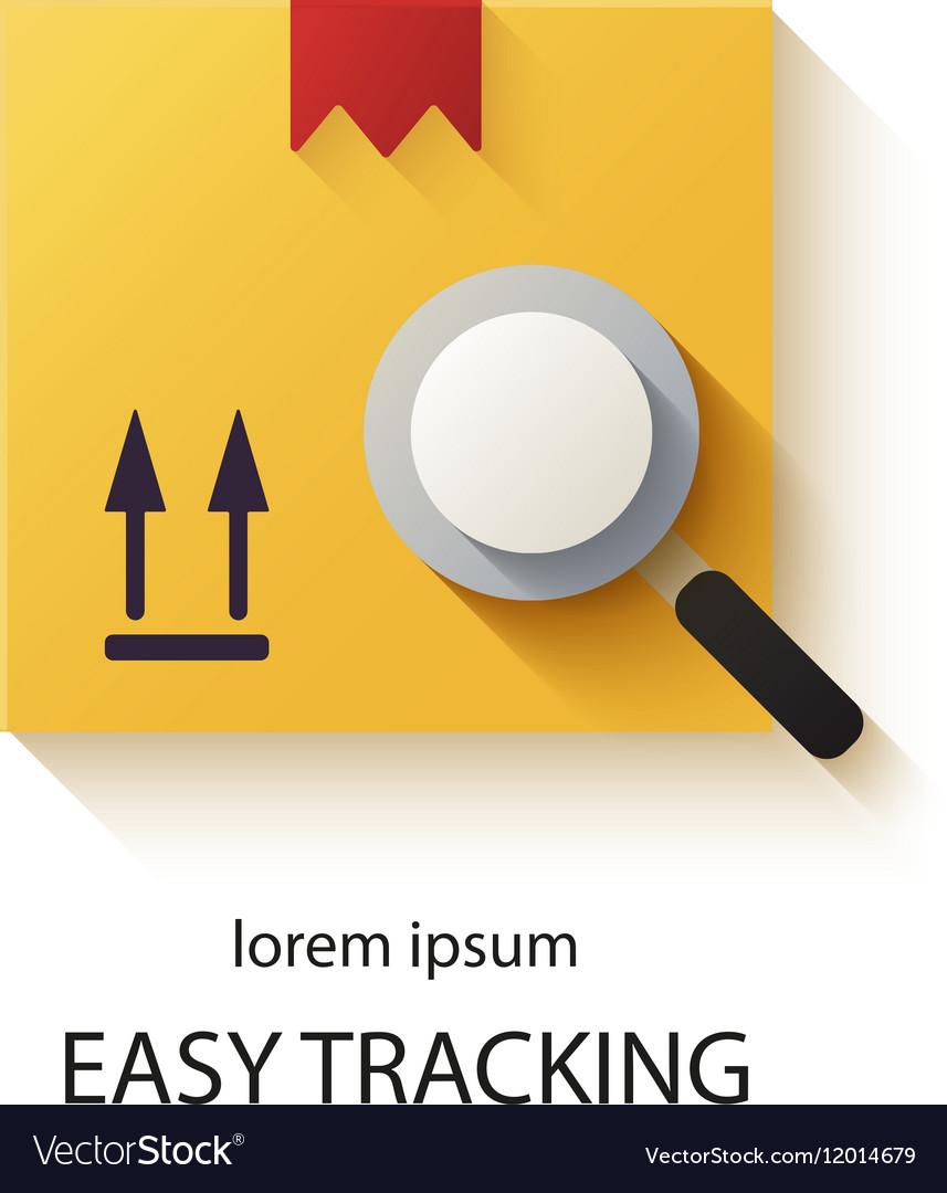 Cargo tracking logotype