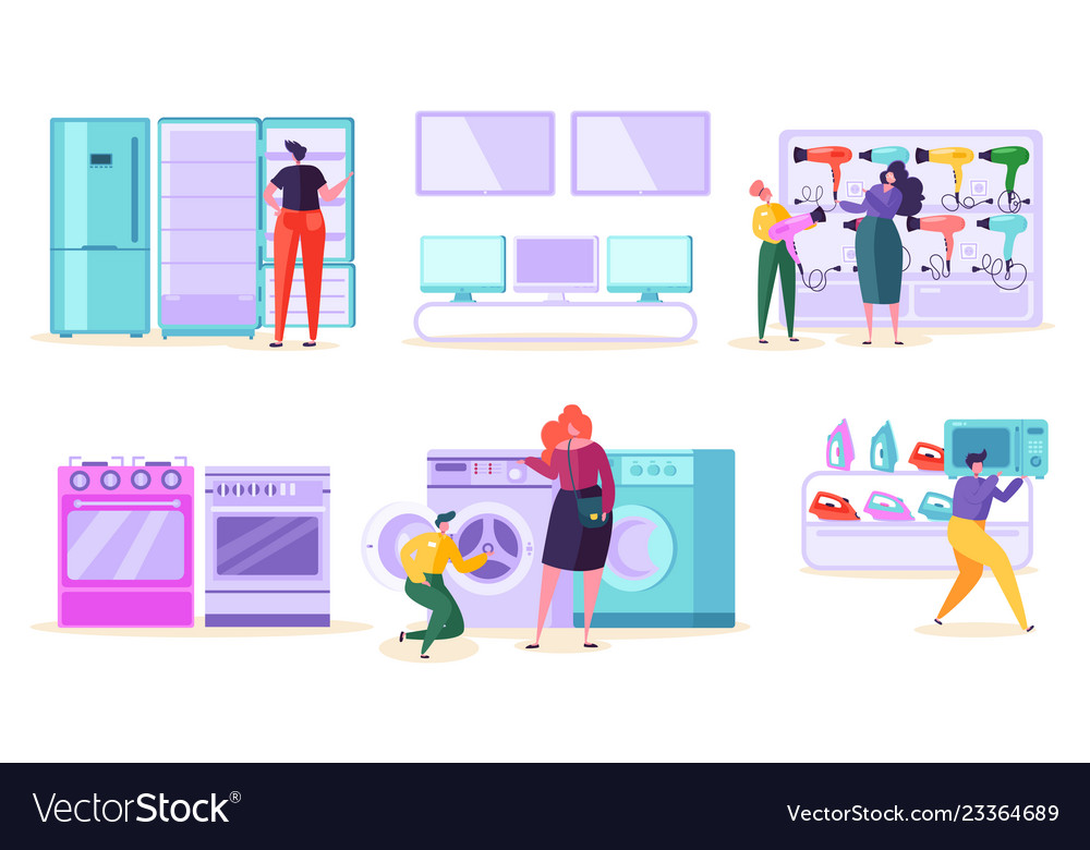Electronic retail store sale market consumer