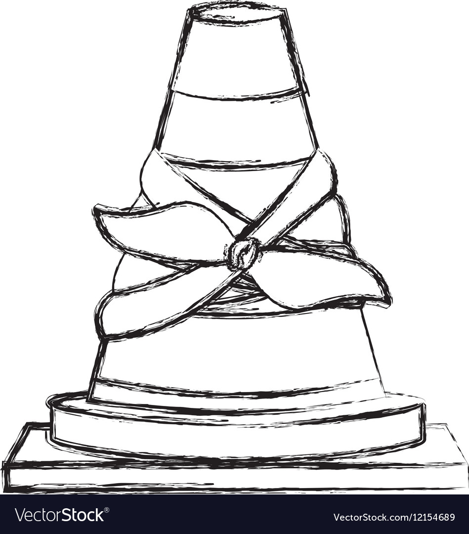 Toy cone damaged design