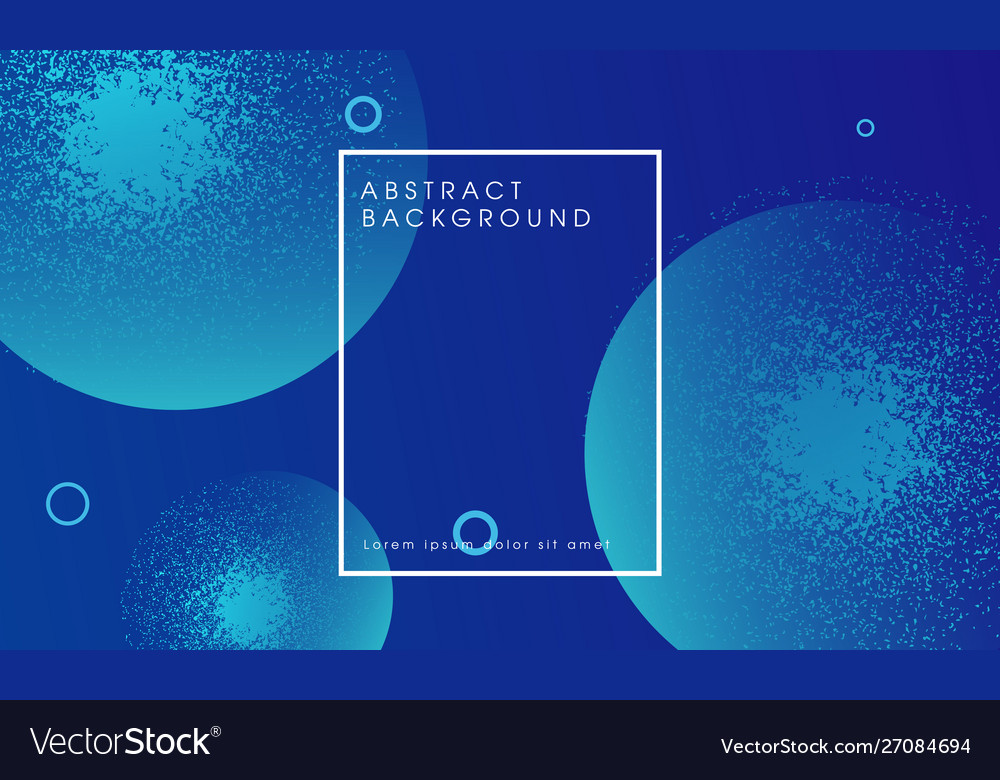 Modern blue abstract particle background design
