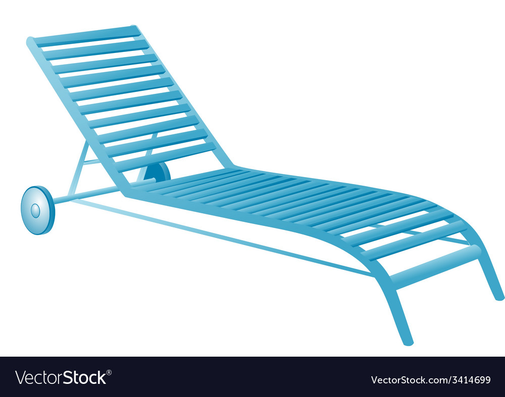 Chair swimming pool