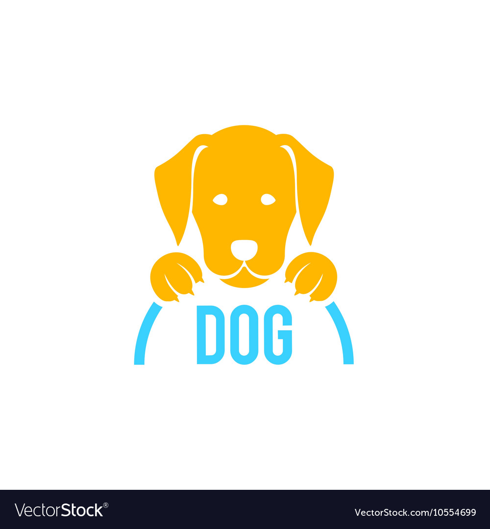 Dog sign and logo for veterinary clinic