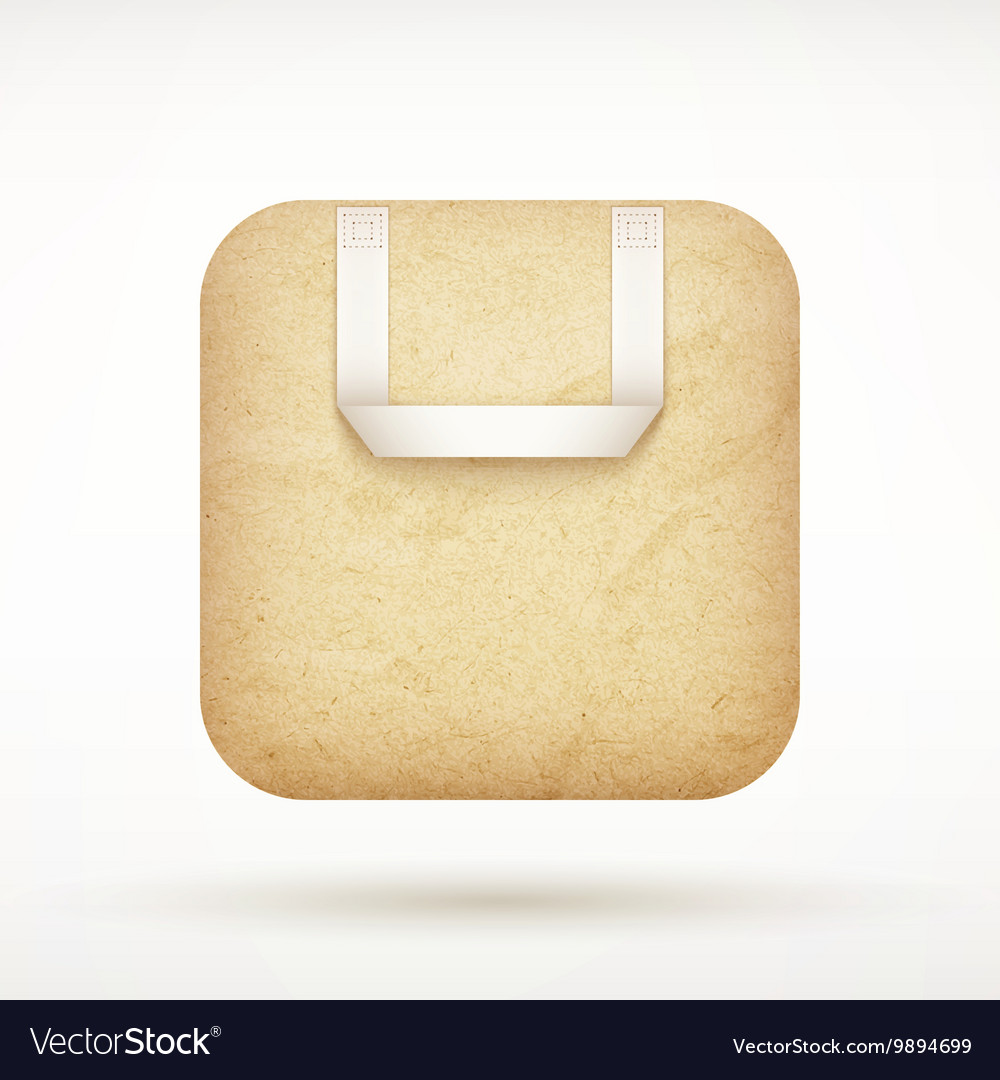 Icon store vector image