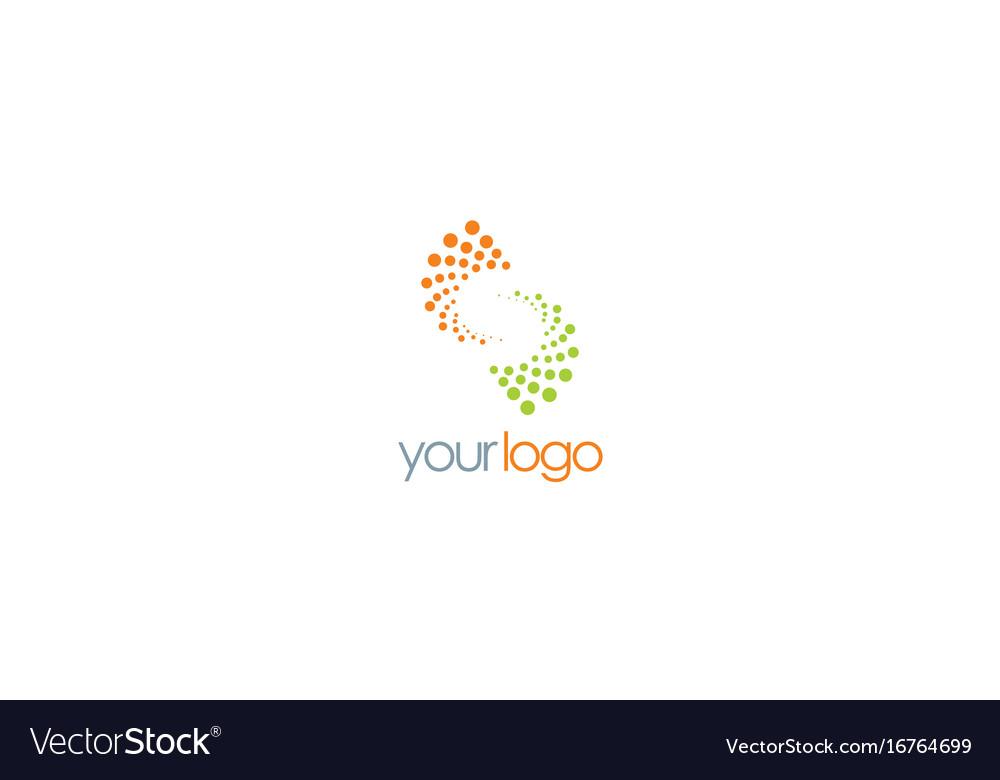 Spin letter s technology logo