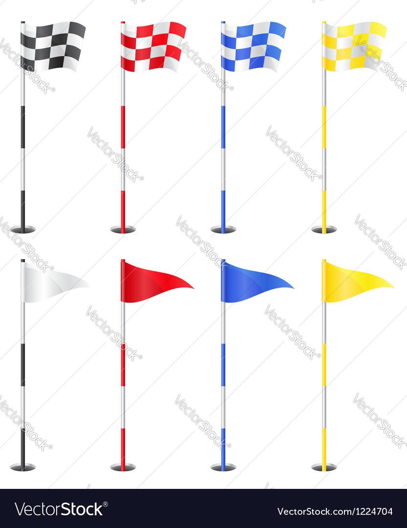 Golf 11 vector image