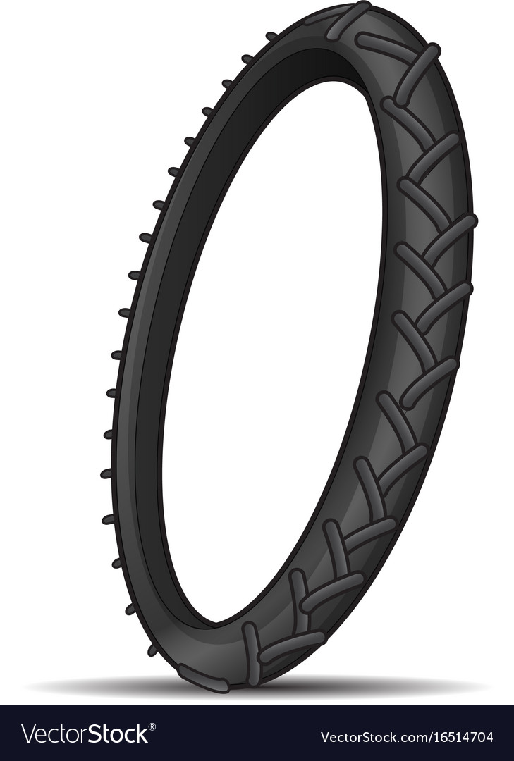 Tire tread vector image