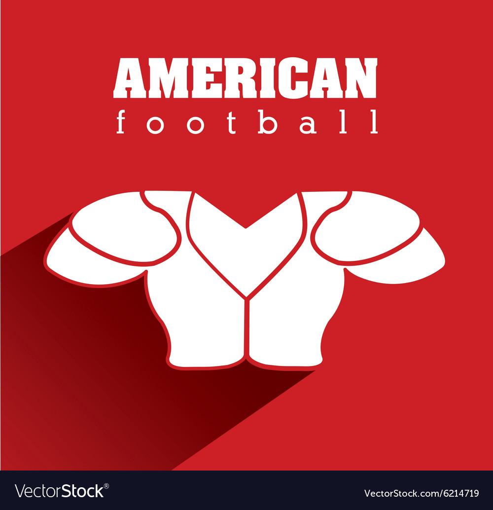 American football equipment design