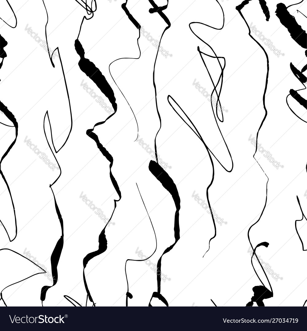 Beautiful hand-made abstract lines in simple