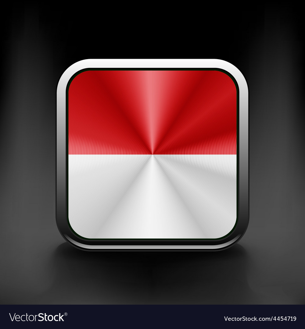 Indonesia icon flag national travel icon country