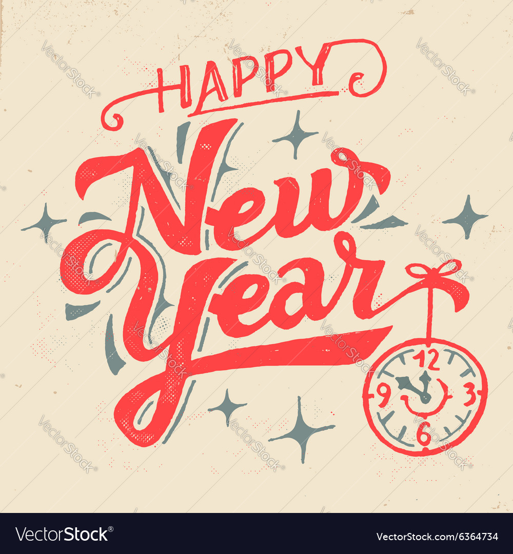 Happy New Year Lettering 10