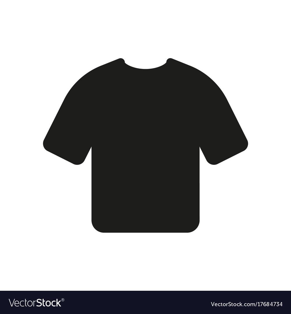 Tshirt icon on white background