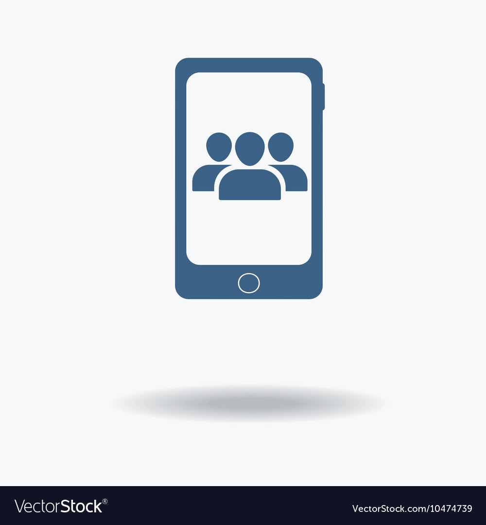 Conference call concept User Profile Group Icon