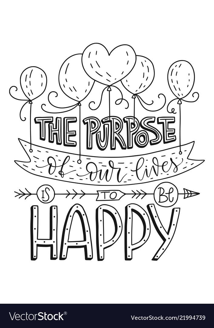 Positive lettering card