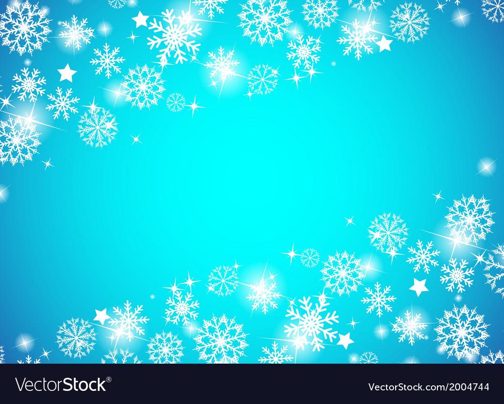 Christmas beautiful blue background