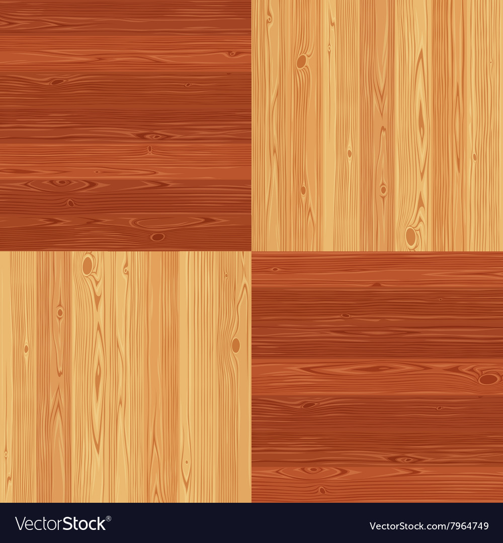 Chess Square Parquet Seamless Floor Pattern Vector Image