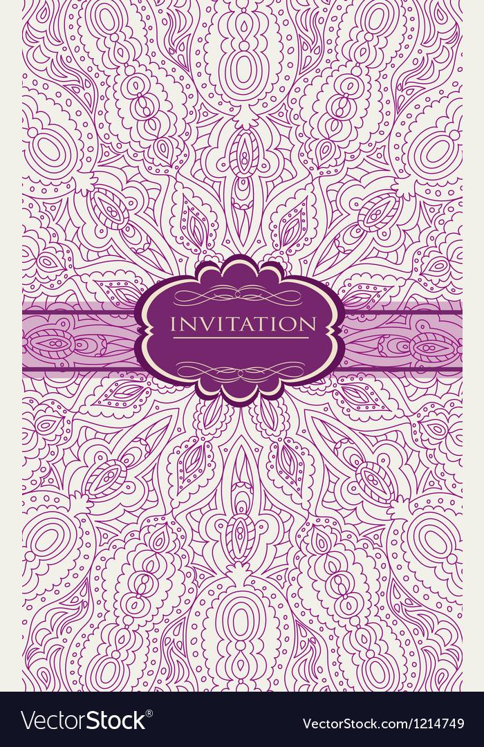 Vintage Background For Invitation Card