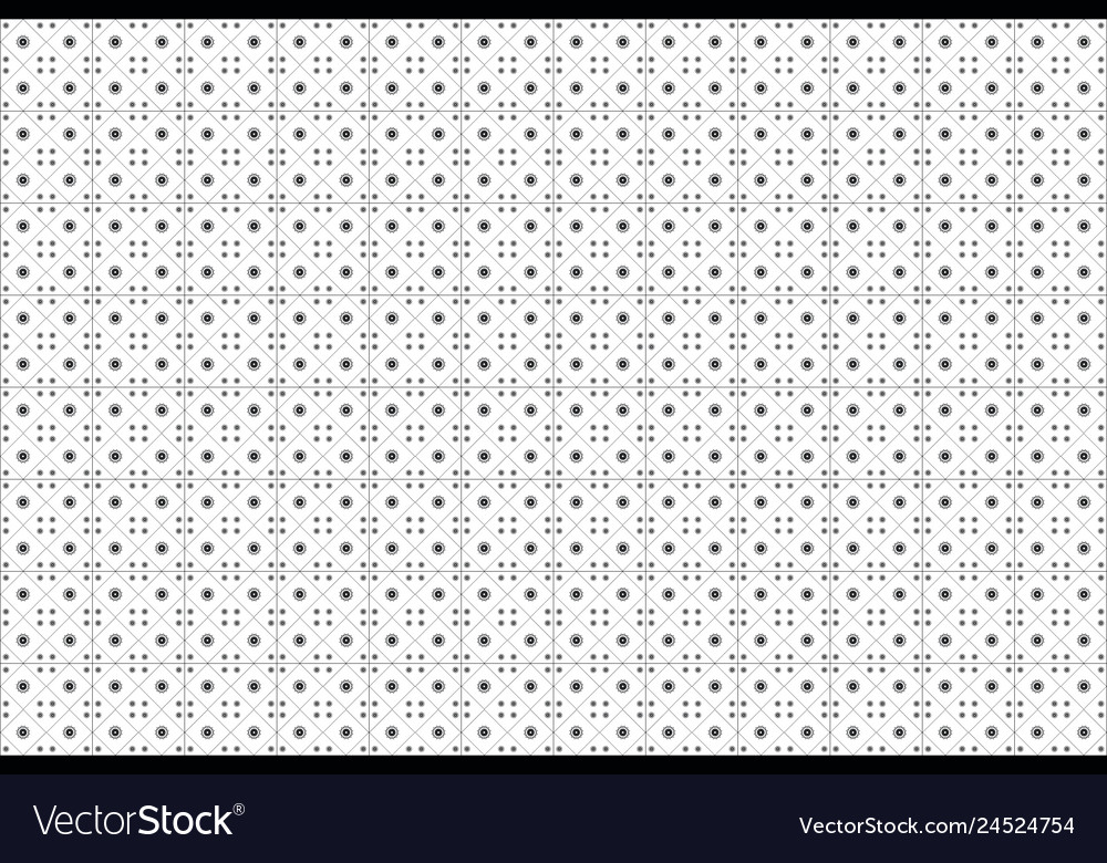 Background white ceramic tile with geometric