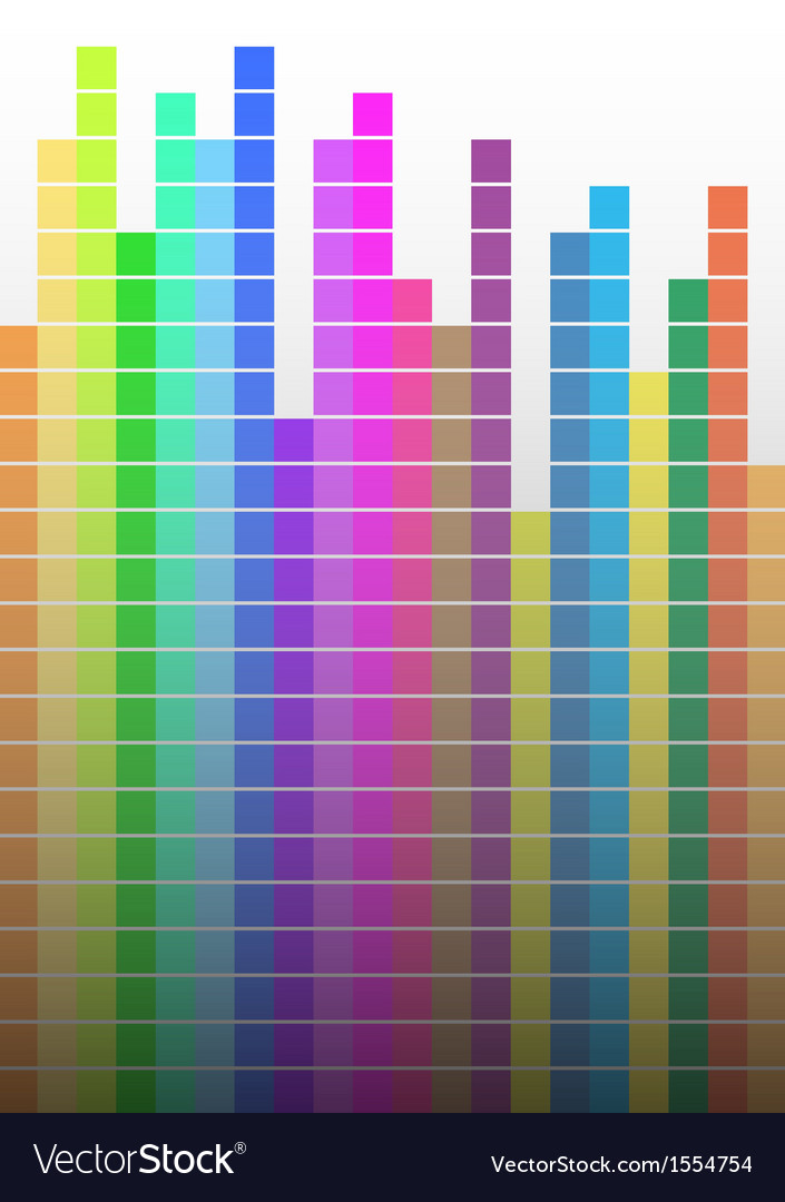 Color abstract vector image
