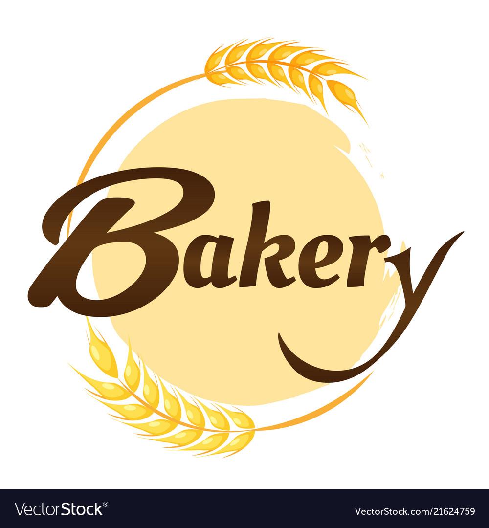 Bakery malt circle frame background image