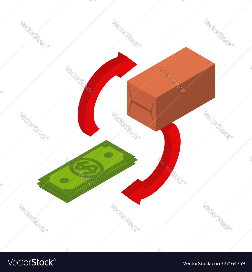 Money Dollar And Commodity Vector Image