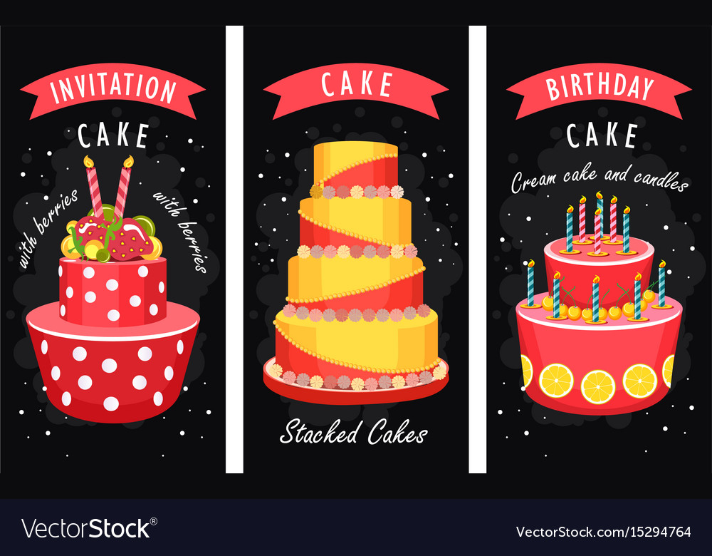 Cake business card royalty free vector image vectorstock cake business card vector image reheart Choice Image