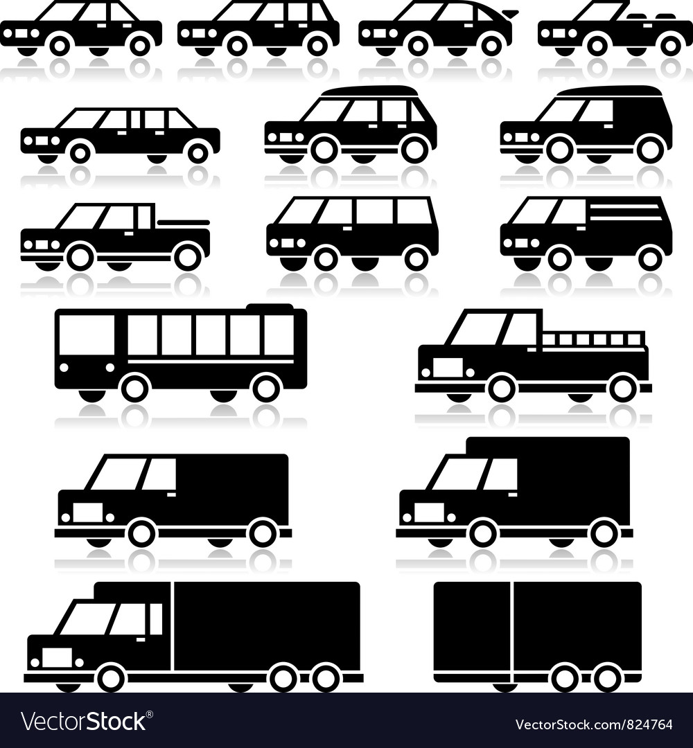 Car Types Icons