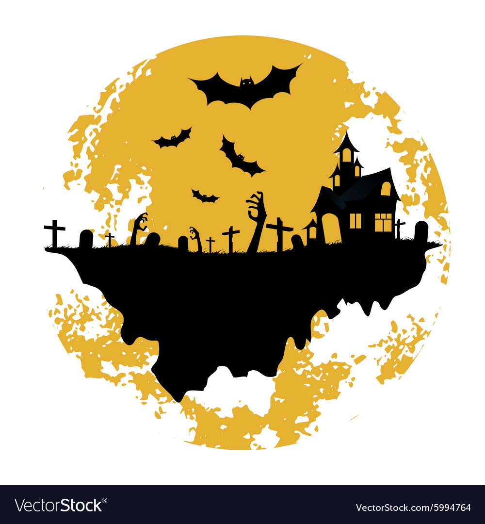 Halloween Zombie Party Poster Holiday Card