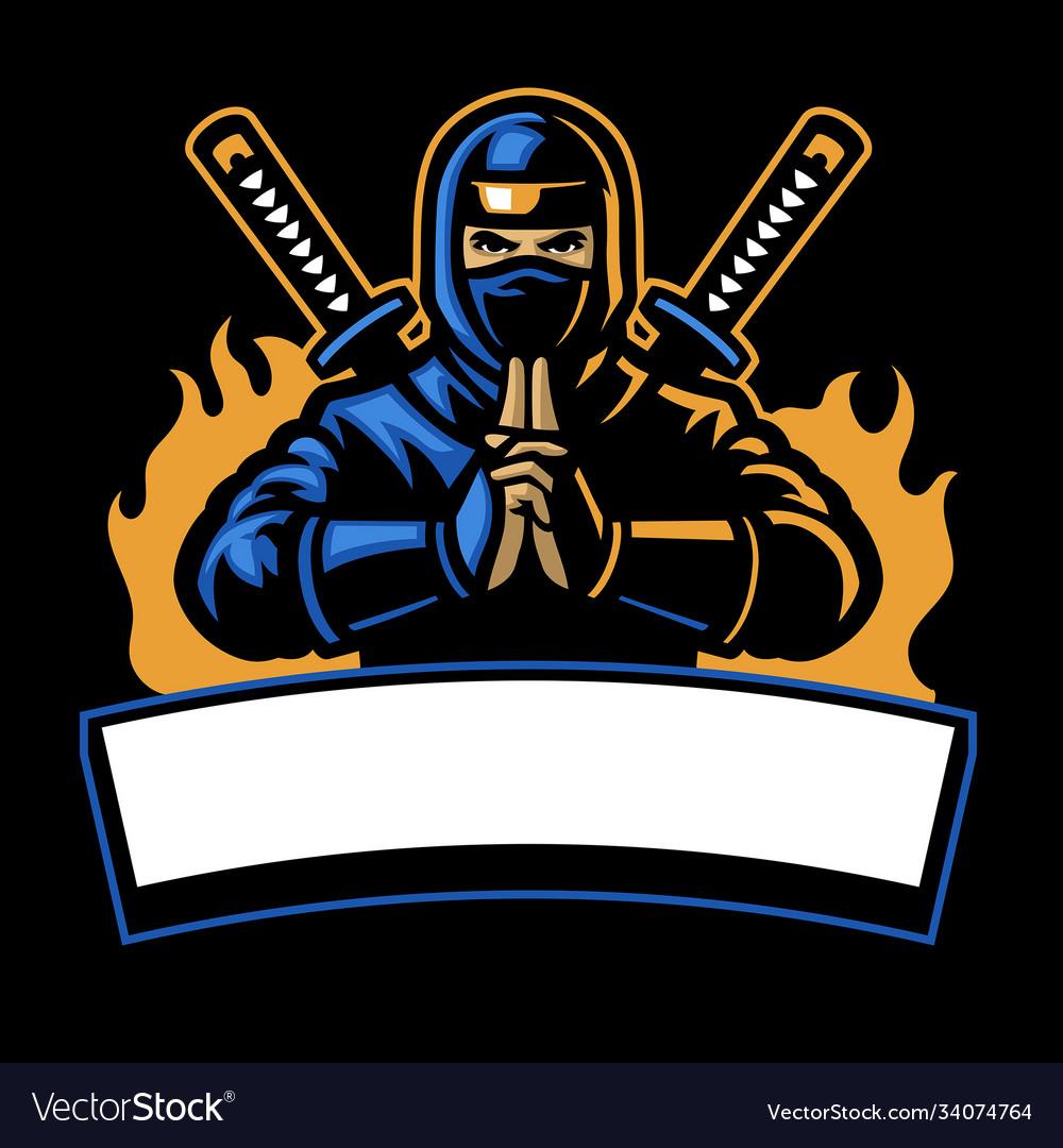 Ninja shinobi sport mascot