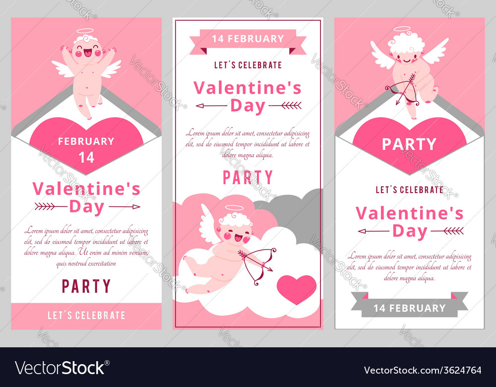Valentines Day Party Design templates