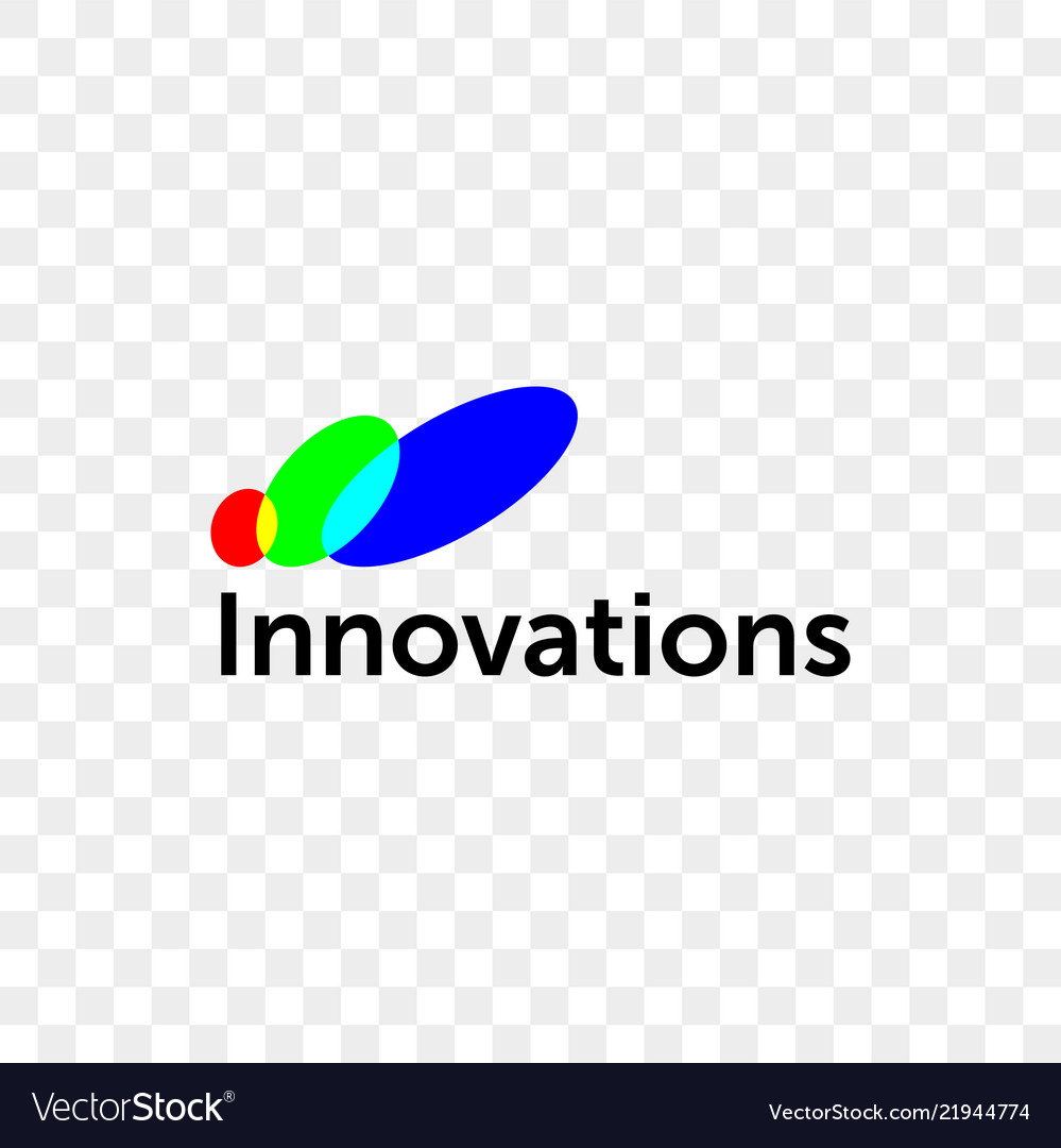 Innovations company color circles icon