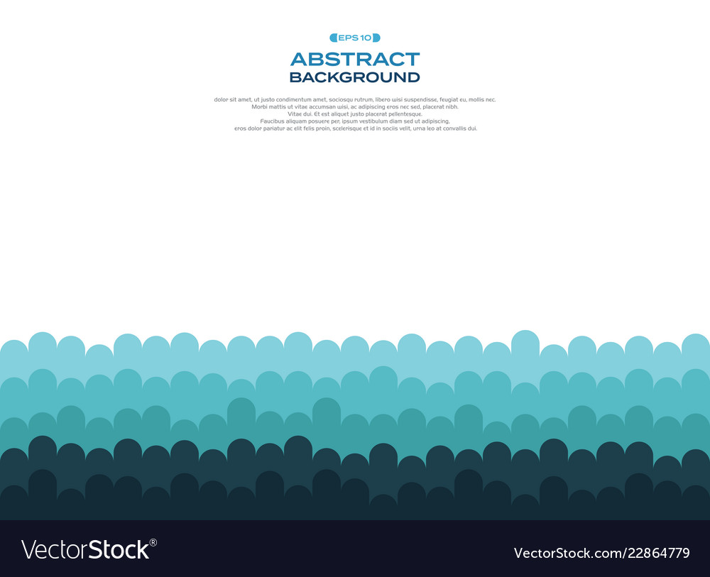 Aabstract of blue curve wave pattern level