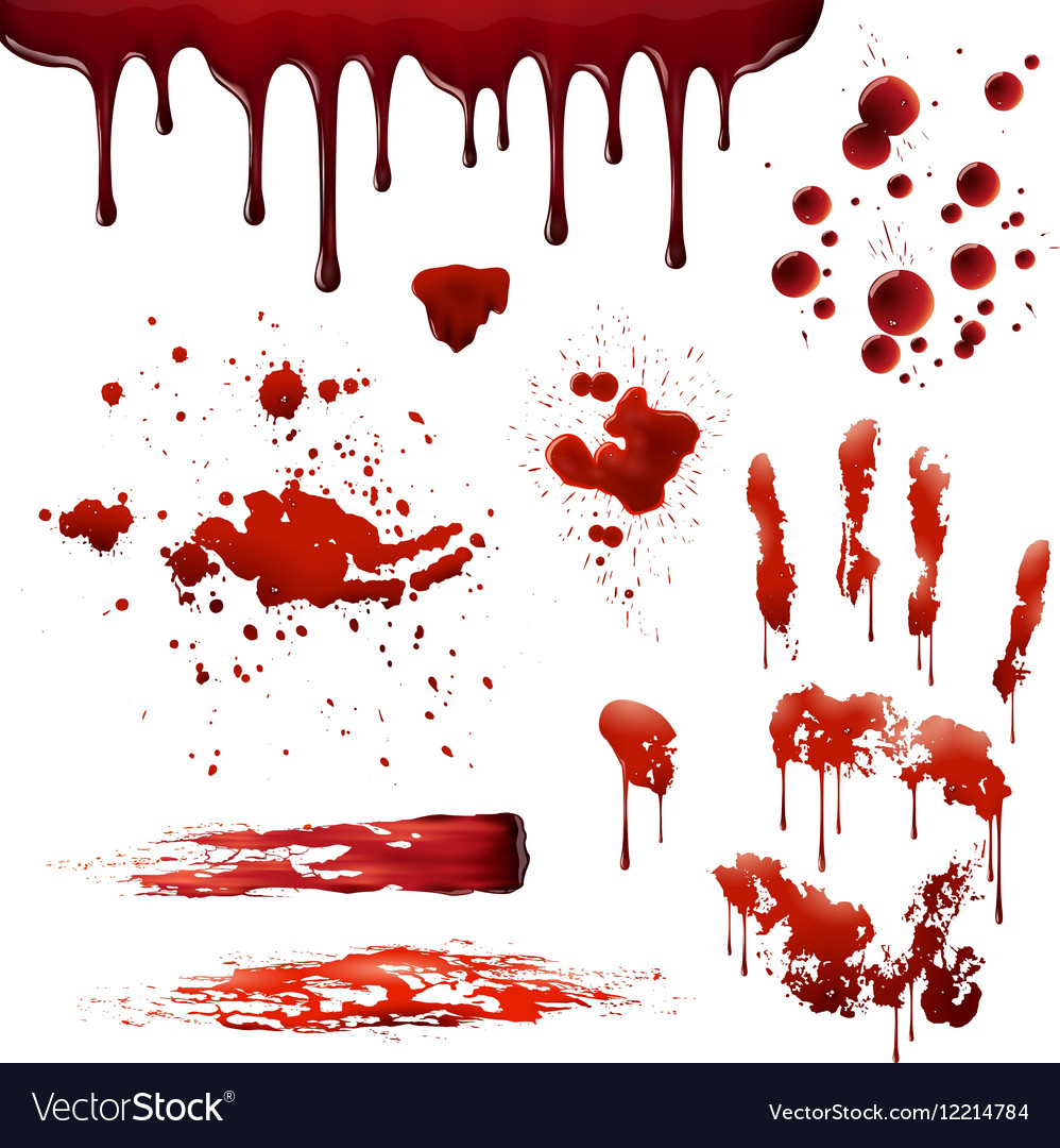 Blood Stain Patterns Cool Decorating Ideas