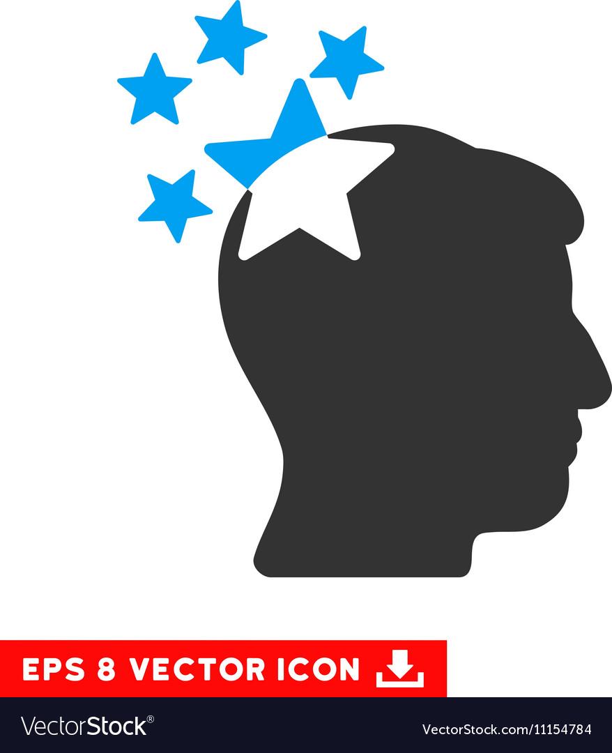 Stars Hit Head Eps Icon