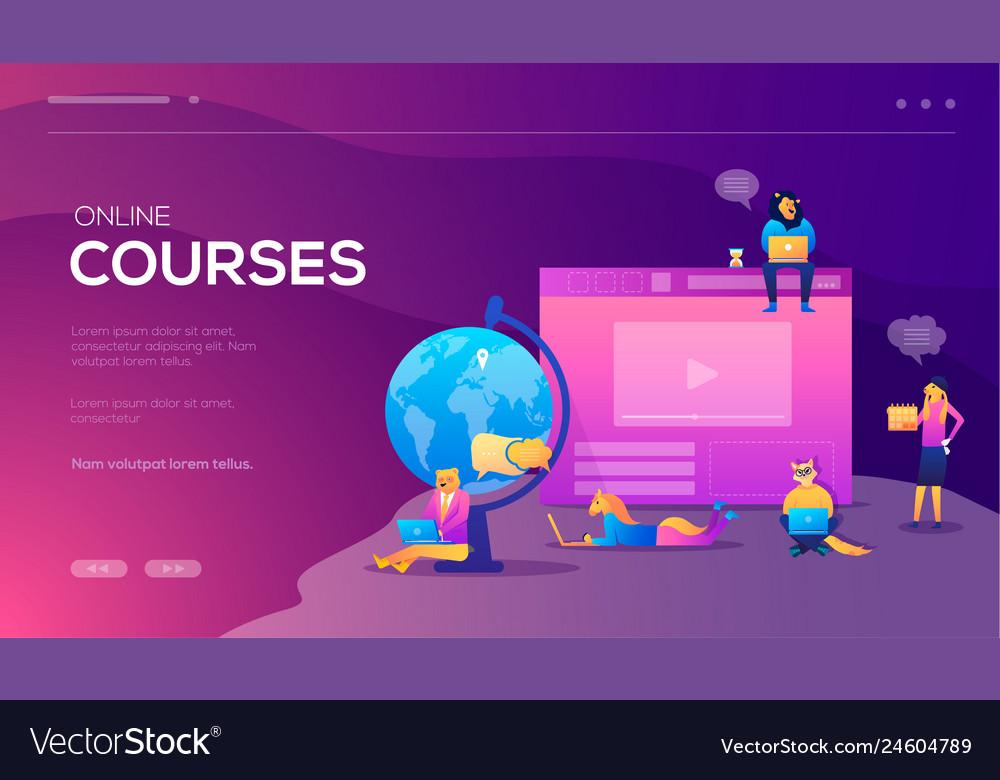 Online training courses retraining