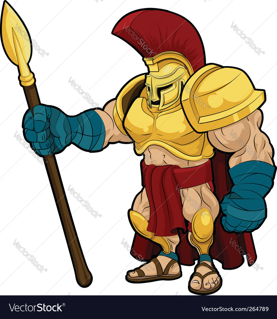 Spartan gladiator