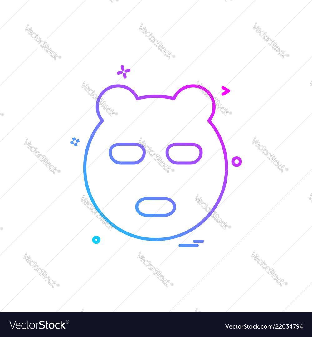 Bear icon design