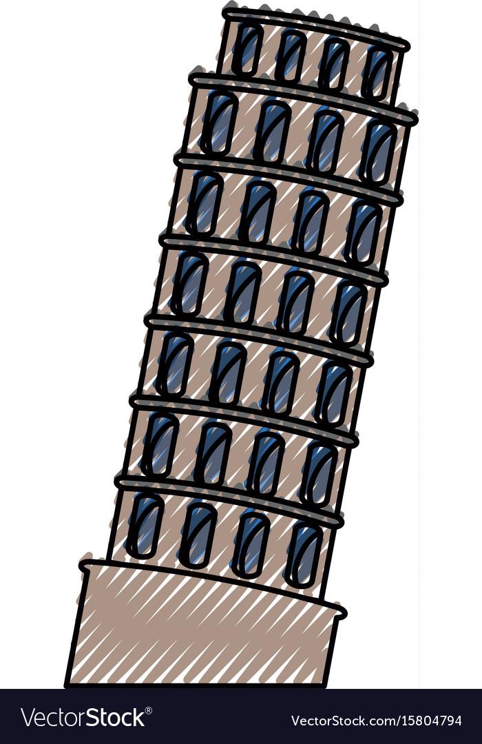 Pisa tower building