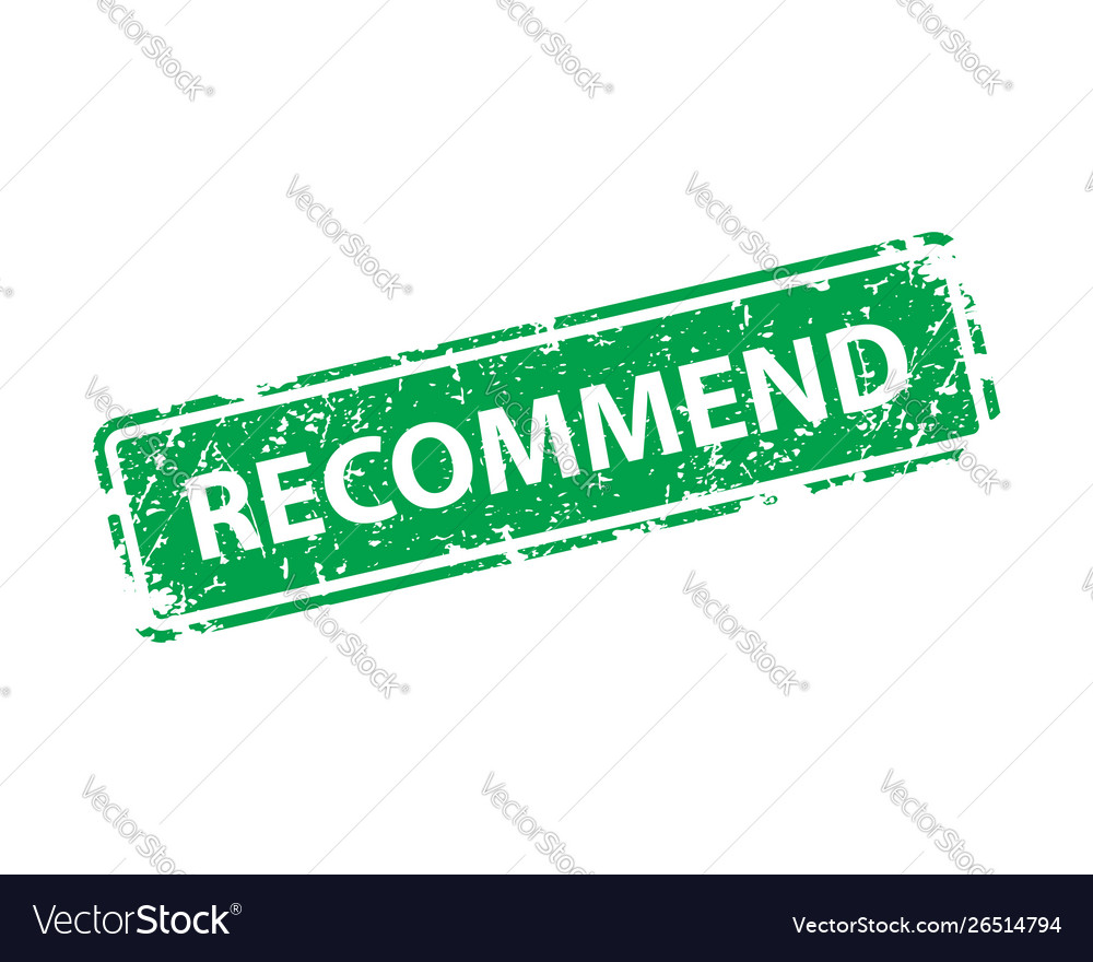 Recommend sign sticker stamp texture