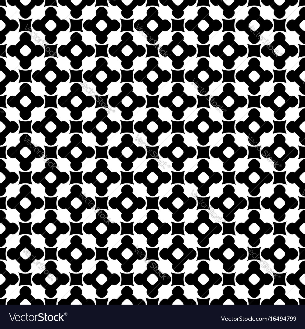 Monochrome seamless pattern ornament texture