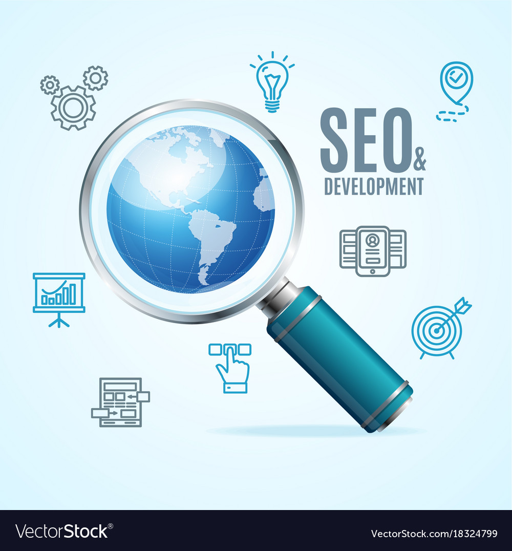 Search engine seo concept