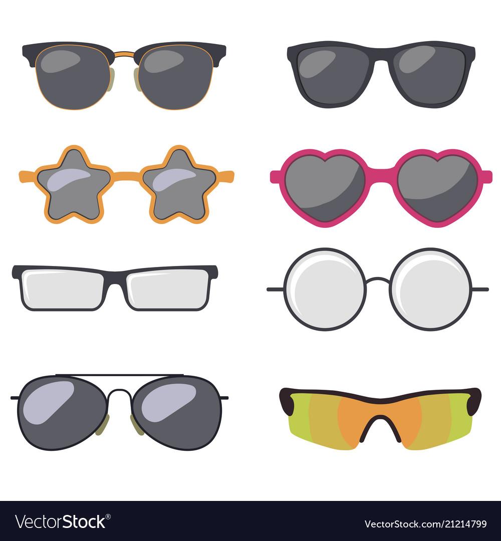 Sunglasses set summer eyewear