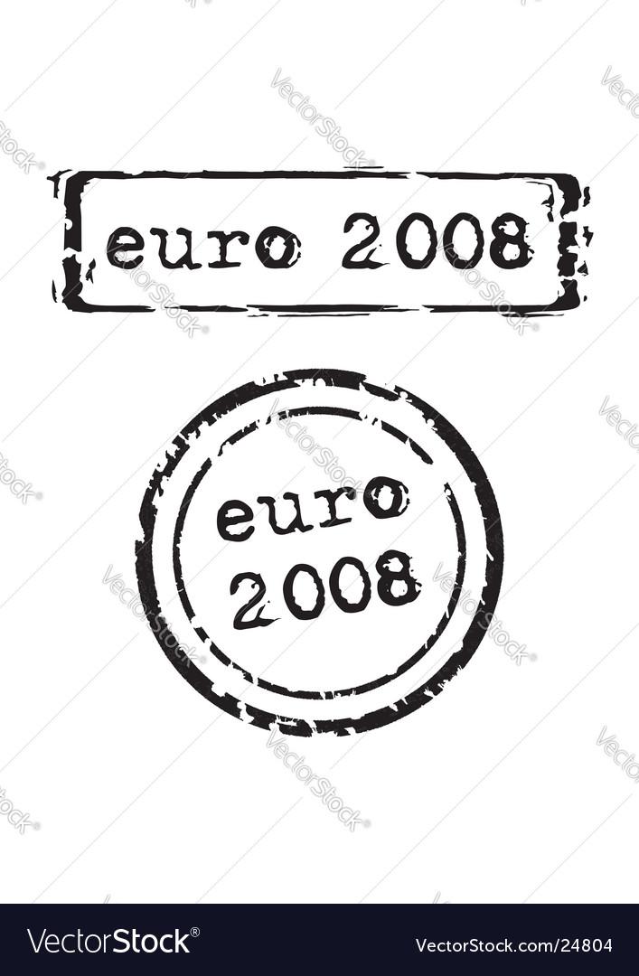 Euro 2008 stamp