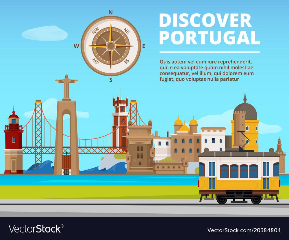 Urban landscape of lisabon portugal culture